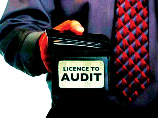 Licensed to audit?